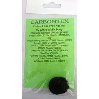 Carbontex  Drag  Carbon  Fibre  Washers  for  Shimano  Spinner  2500fh  fishing  reels (G5)