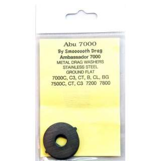 Abu 7000 Smooth Drag Ground Metal Washers  (Gr9)