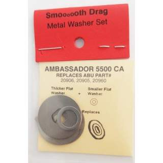 Abu 4000 - 6000 Smooth Drag Ground Metal Washers  (Gr4)