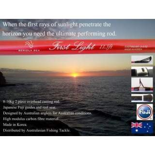 Seriola Sea First Light 3-5 ounce Overhead Fishing Rod